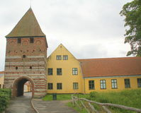 Mølleport et musée denmark photographie stock