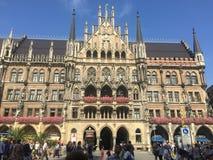 MÃ-¼ nchen,/München Lizenzfreies Stockfoto
