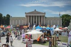 MÃ ¼ nchner Sportfestival 2016 AM Koenigsplatz, Στοκ φωτογραφίες με δικαίωμα ελεύθερης χρήσης