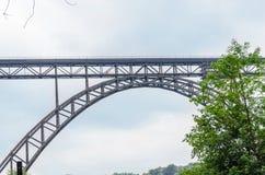 MÃ ¼ ngstener most w Solingen, Niemcy Obrazy Stock