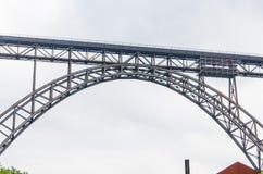 MÃ ¼ ngstener most w Solingen, Niemcy Zdjęcie Stock