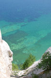 Møns Klint. Chulk cliff in Denmark Royalty Free Stock Photography