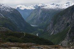 Møre och Romsdal - Norge Arkivbilder