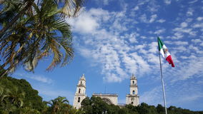 Mérida大教堂 库存照片
