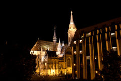 MÃ-¡ tyà ¡ s Templom - Matthias-Kirche, Budapest Lizenzfreie Stockfotografie