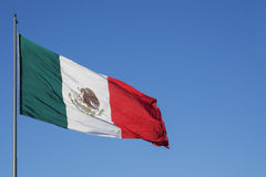 México's flag Stock Image