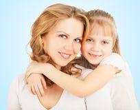 Mãe com filha Foto de Stock Royalty Free