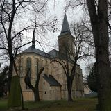 Mãe do ot da igreja do deus, Kutna Hora, República Checa Imagens de Stock