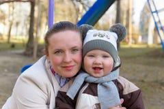 Mãe e bebê Foto de Stock Royalty Free