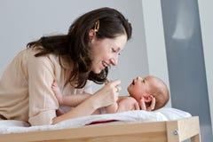 Mãe e criança Foto de Stock