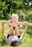 Mãe e criança Fotos de Stock Royalty Free
