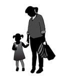 Mãe e criança Imagem de Stock