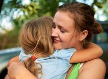 Mãe e criança felizes Fotografia de Stock Royalty Free