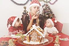 Mãe e crianças Fotos de Stock Royalty Free