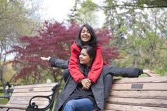 Mãe e filha Imagem de Stock Royalty Free