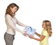 Mãe e filha Imagens de Stock Royalty Free