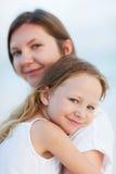 Mãe e filha Foto de Stock