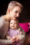 Mãe e filha Fotos de Stock Royalty Free