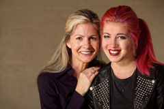Mãe e filha felizes Fotografia de Stock Royalty Free