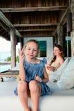 Mãe e filha no recurso fotos de stock royalty free