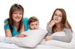 Mãe e filhas Fotografia de Stock