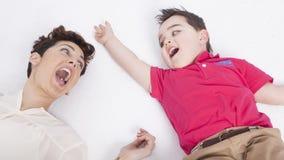 Mãe e filho Imagens de Stock Royalty Free