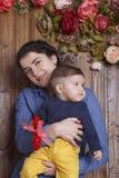 Mãe e filho pequeno Fotografia de Stock Royalty Free