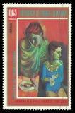 Mãe e filho por Picasso Imagens de Stock Royalty Free