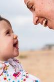 Mãe e infante Fotografia de Stock