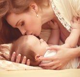 Mãe com bebê Imagem de Stock Royalty Free