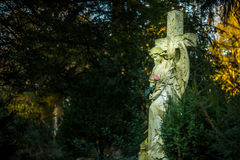 Mãe Mary Christianity Religion na natureza imagem de stock royalty free