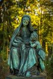 Mãe Mary Christianity Religion na natureza fotografia de stock royalty free