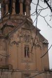 Mãe santamente do St da decoração da igreja do deus Imagem de Stock Royalty Free