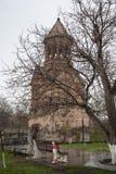 Mãe santamente do St da decoração da igreja do deus Fotografia de Stock Royalty Free