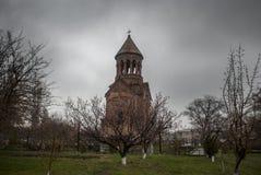 Mãe santamente do St do panorama da igreja do deus Fotografia de Stock Royalty Free