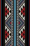 Mão árabe de Sadu dos povos tradicionais à moda dos diamantes que tece Patt ilustração stock