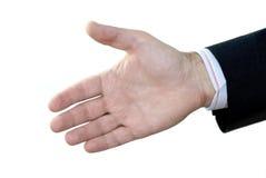 Mão imagem de stock