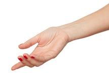A mão Imagem de Stock Royalty Free