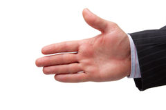 Mão Foto de Stock