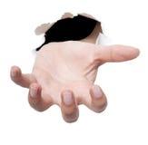 Mão aberta Fotografia de Stock