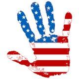 Mão abstrata Imagem de Stock