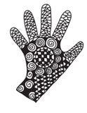 Mão abstrata Foto de Stock Royalty Free