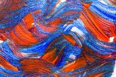 Mão abstrata fundo criativo tirado da arte da pintura acrílica clo imagem de stock royalty free