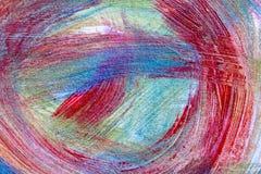 Mão abstrata fundo criativo tirado da arte da pintura acrílica clo ilustração royalty free