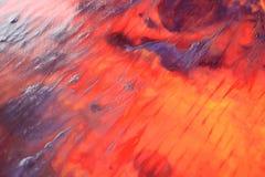 Mão abstrata fundo pintado Fotos de Stock