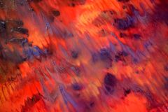 Mão abstrata fundo pintado Imagem de Stock