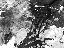 Mão abstrata fundo pintado Foto de Stock
