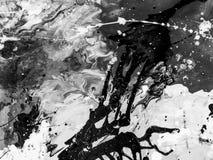 Mão abstrata fundo pintado Imagens de Stock