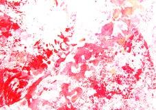 Mão abstrata pintura/gráficos desenhados fotografia de stock