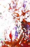 Mão abstrata pintura/gráficos desenhados Fotos de Stock